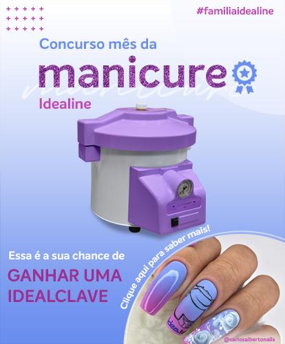 Banner Concurso Mês da manicure
