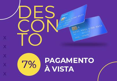 7% A Vista